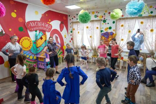 Открытие Дома Масленицы состоялось в минувшую субботу!