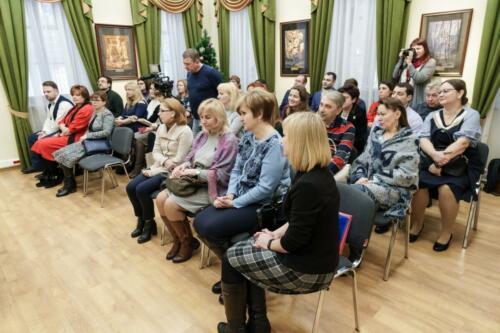 Глава городского округа Красногорск поблагодарила коллектив МАУК «Парки Красногорска»