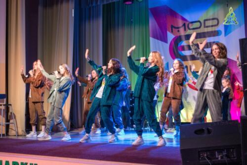 Театр песни «Модемуз» презентовал мюзикл «Club Modemuz» на сцене Дома культуры «Опалиха»